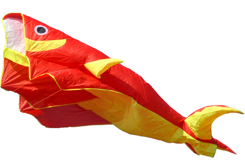 Красная Касатка, воздушный змей 2.2 метра [ZBRO]