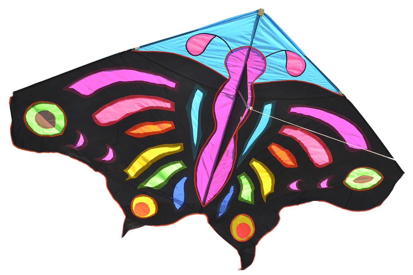Змей воздушный Огромная Тропическая Бабочка [ZBHTP]