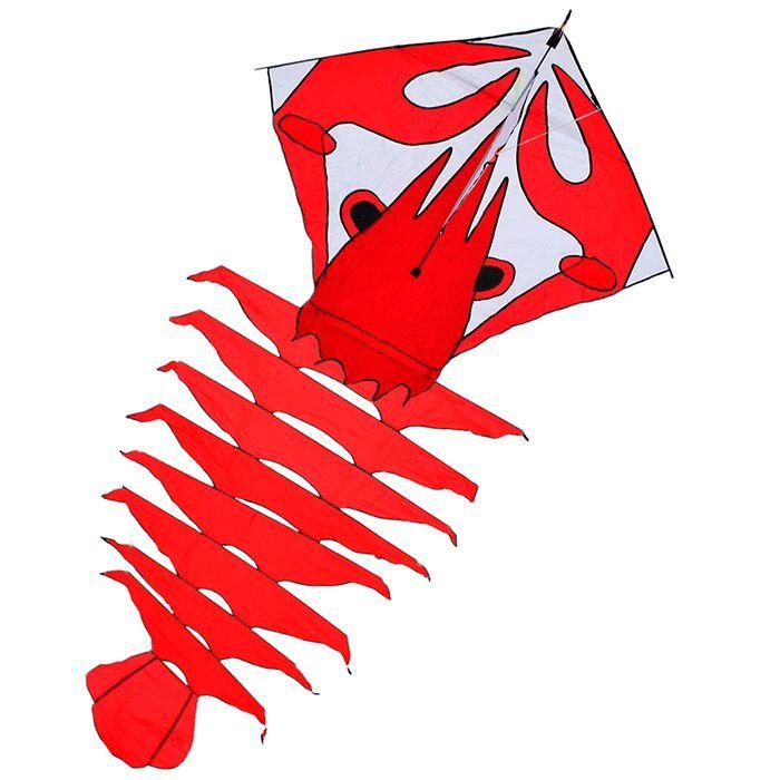 красный омар, воздушный змей 3.5 метра [zbrre]