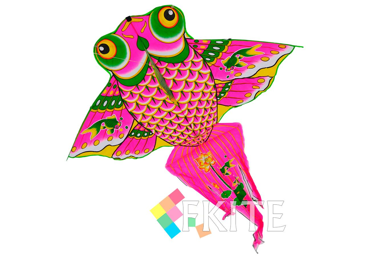 Рыбка Петушок, воздушный змей [ZBSPT13]
