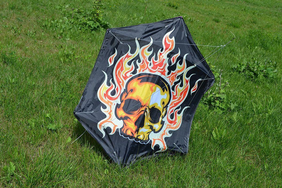 Огненная маска изображение 0