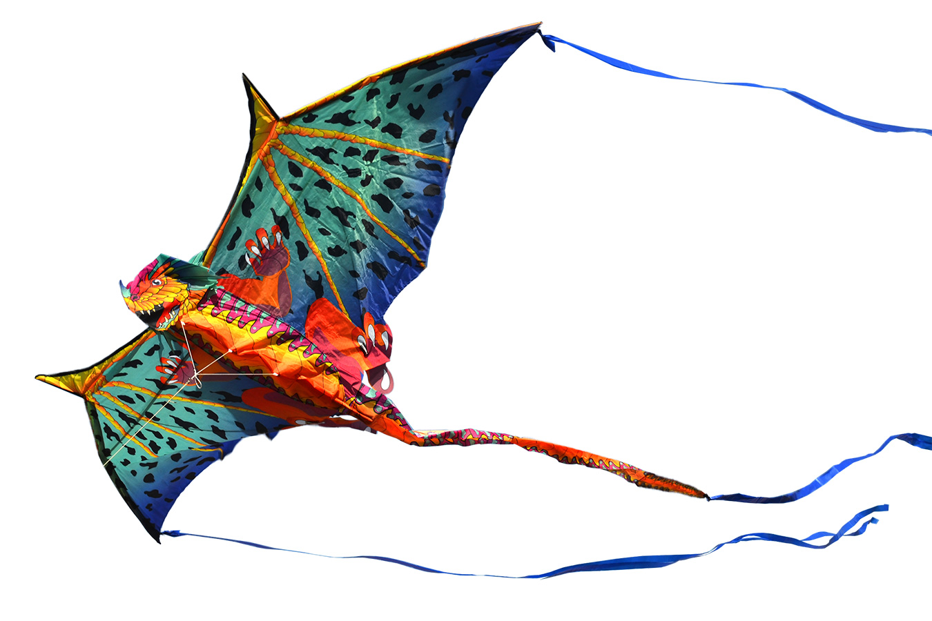 Ледяной Василиск, 3D воздушный змей [ZB540]