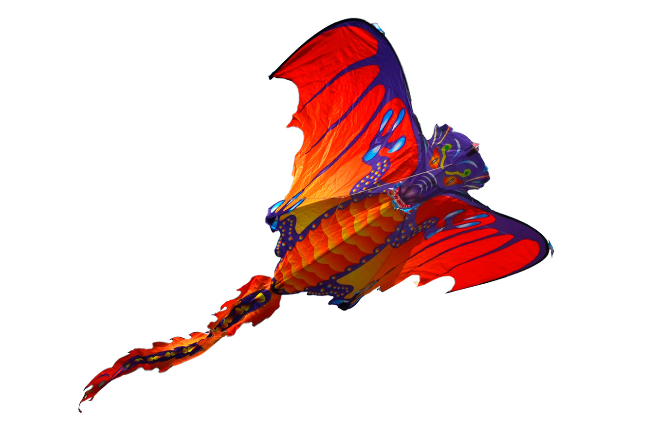 Огненная Виверна, воздушный змей [ZB103]
