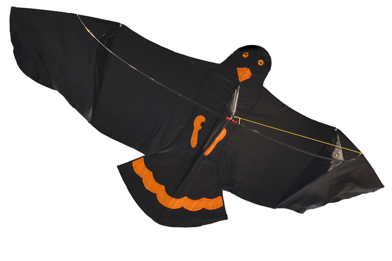 Черный ворон, воздушный змей [ZB589]