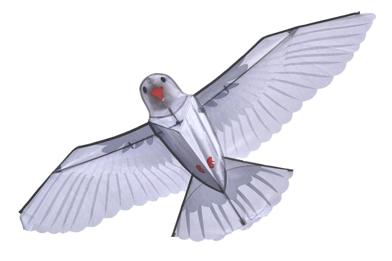 Белый голубь, воздушный змей [ZB749]