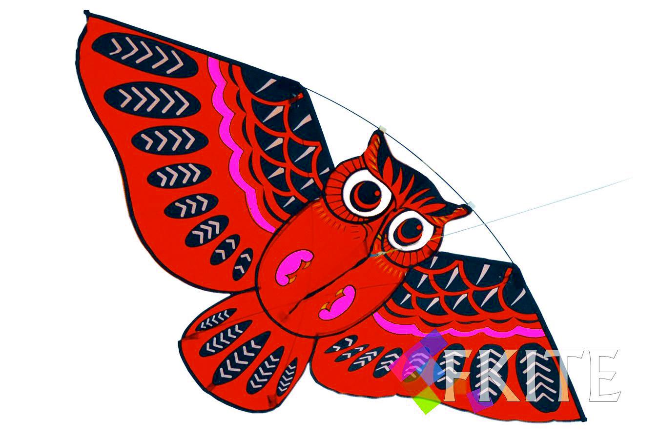 Змей воздушный цветной Филин [ZBD565]