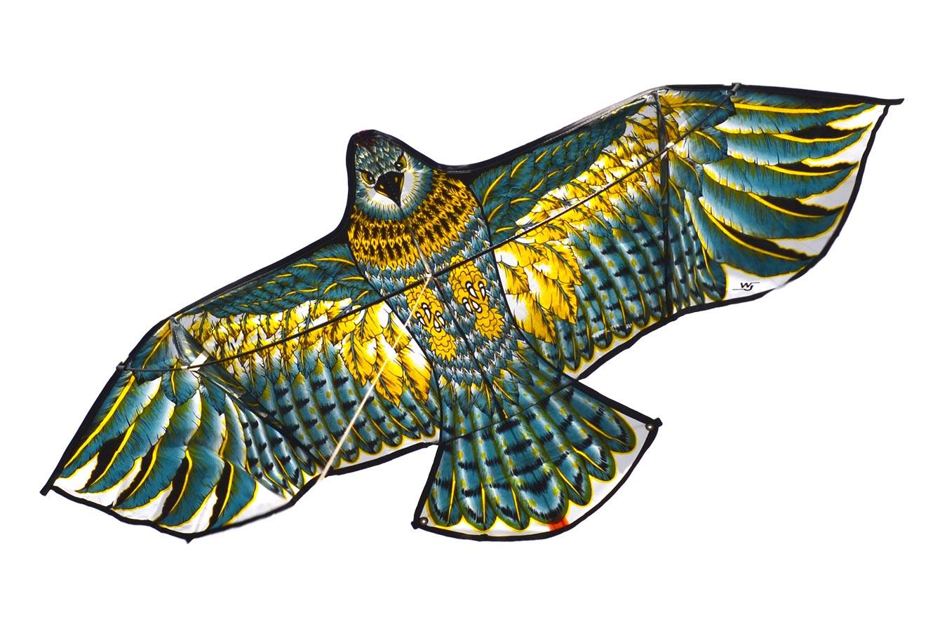 Золотой Чеглок, воздушный змей  1.4 метра [ZB521]