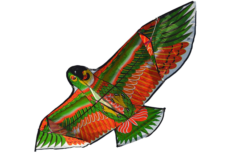 Зеленый Какаду, воздушный змей [ZVD579]