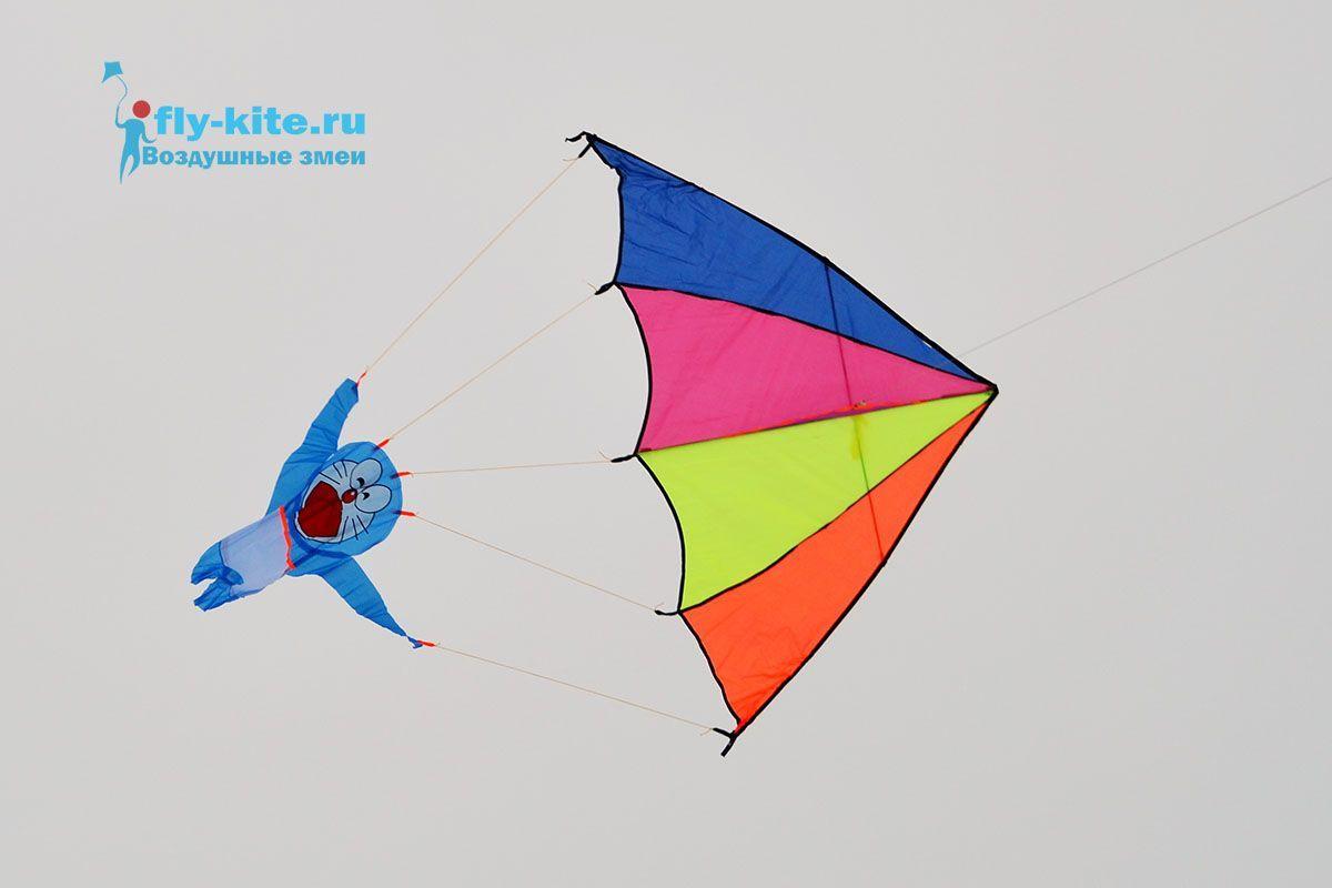 Кот парашютист изображение 1