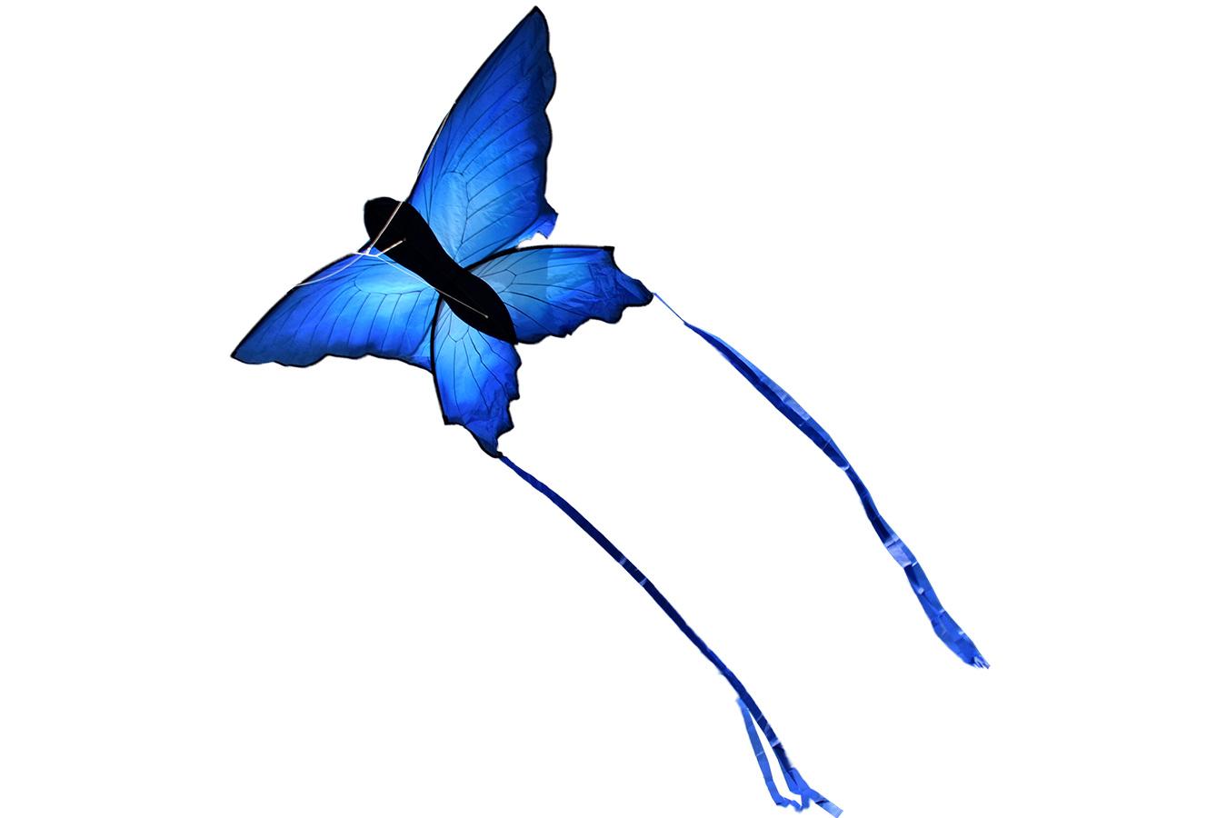 Змей воздушный синий Махаон [ZBTK017]