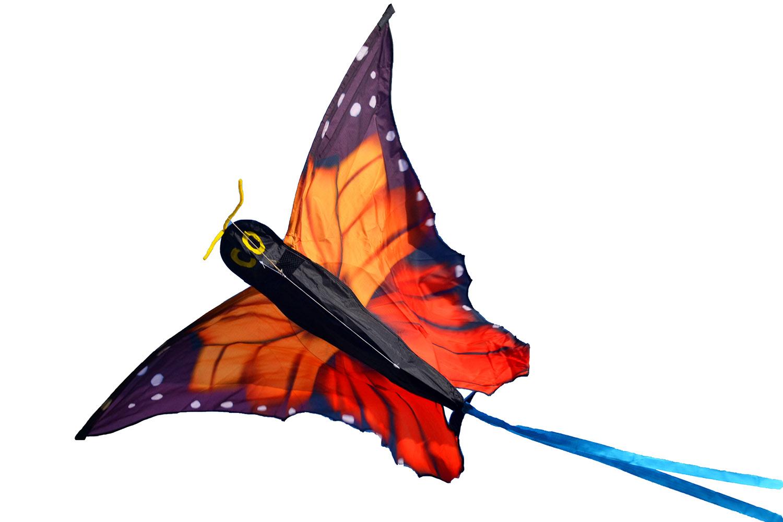 Бабочка Монарх, воздушный змей [ZB744]