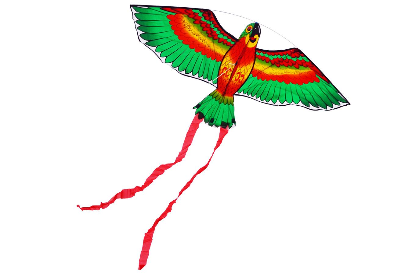 Попугай Розелла зеленый воздушный змей [ZVPRG]