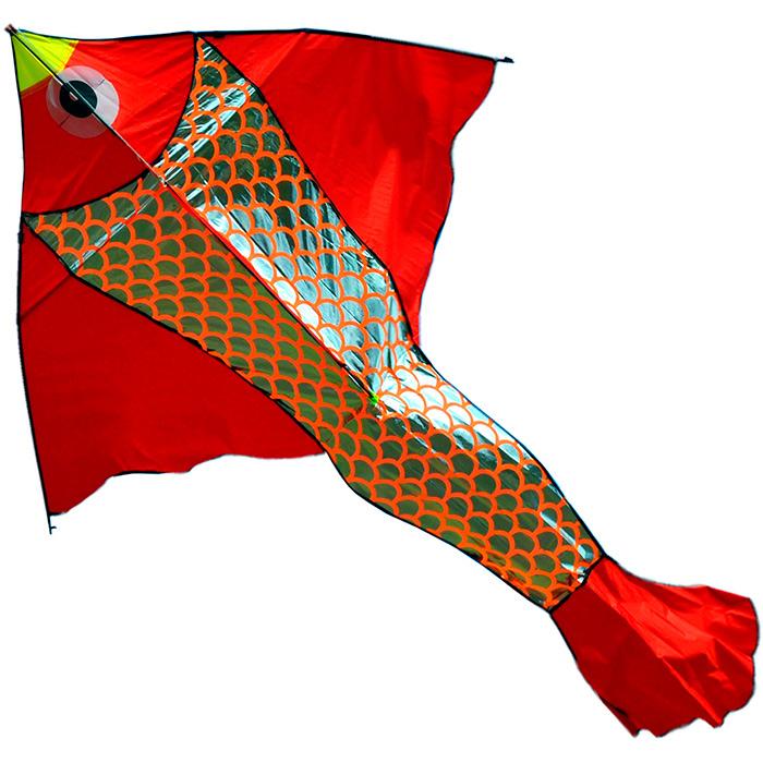 Неон серебристый, воздушный змей [ZVSN556]