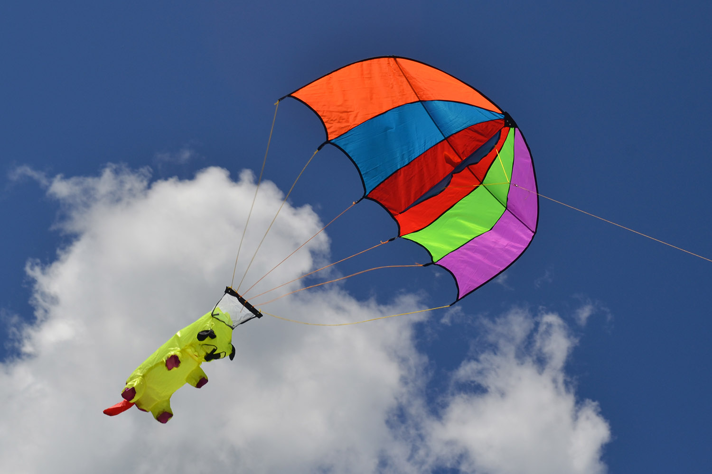 Веселый парашютист изображение 1