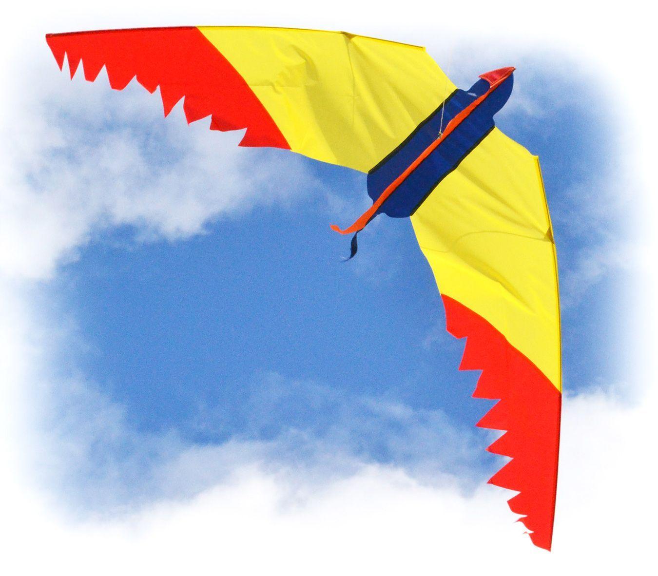 Змей воздушный Веселый попугай [ZB8BP]