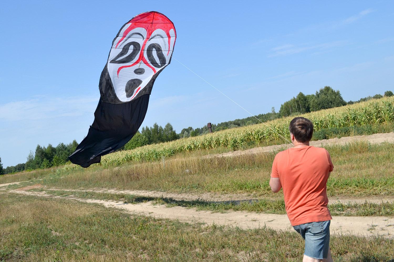 Черный призрак в полете