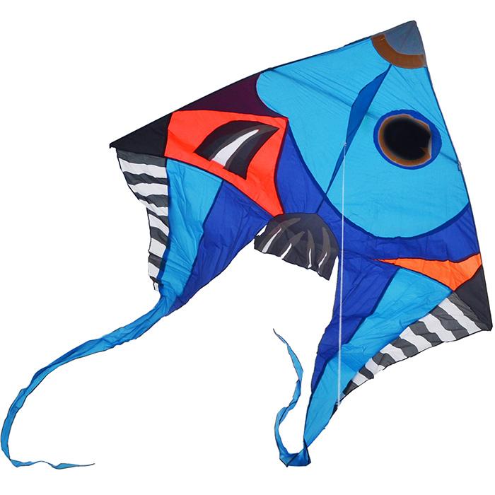 синяя фронтоза, воздушный змей 5 метров [zvktb]