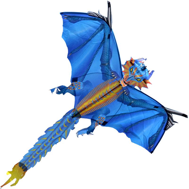 ледяной дракон, воздушный змей с турбиной [zb768]