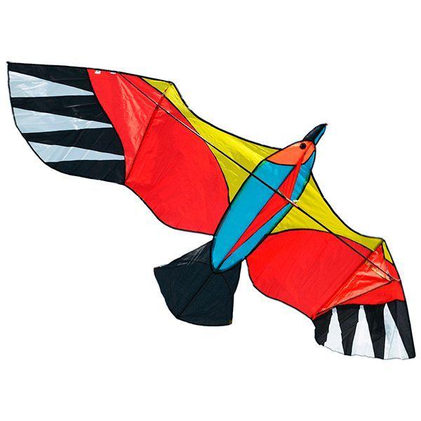 оранжевый буревестник, воздушный змей 3 метра [zbos]