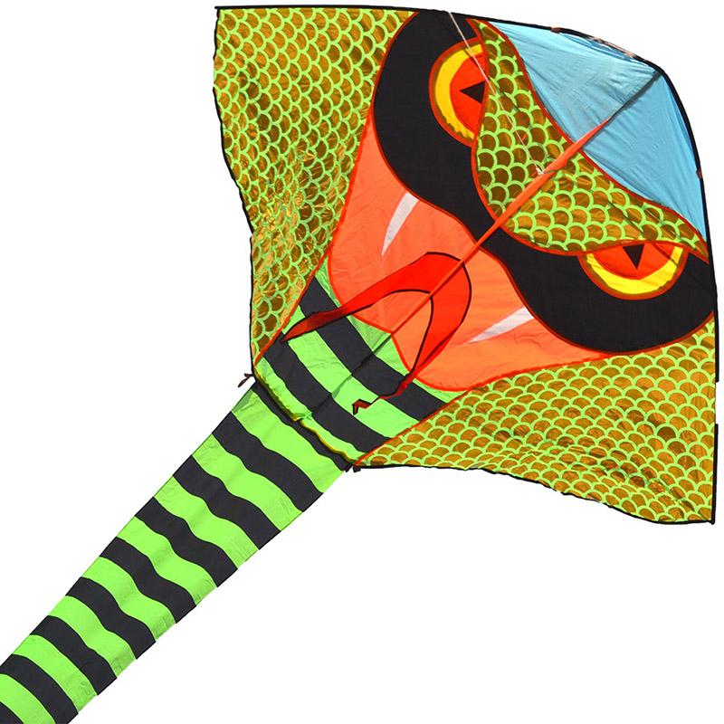 зеленая кобра 45 метров, воздушный змей [zb773]
