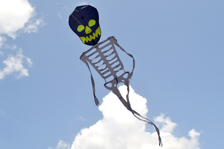 Танцующий Скелет воздушный змей от ФКайт