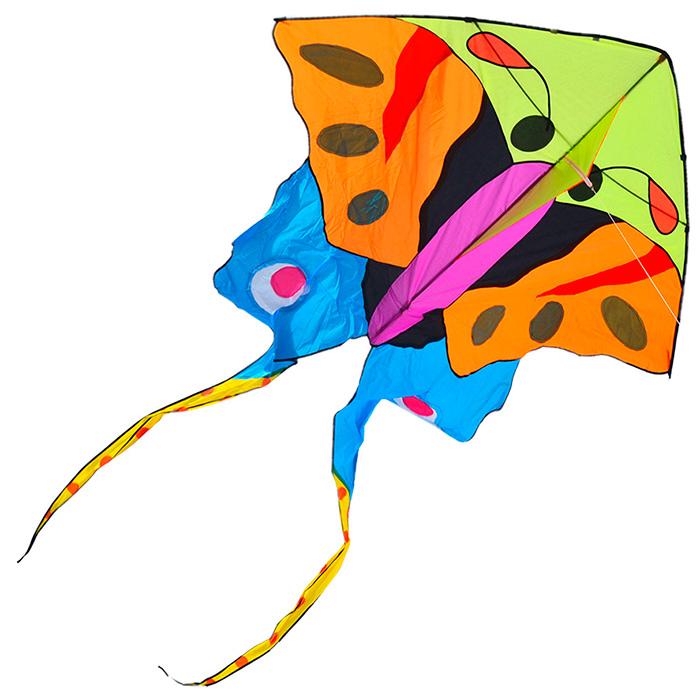 урания, воздушный змей бабочка 3 метра [zb504]