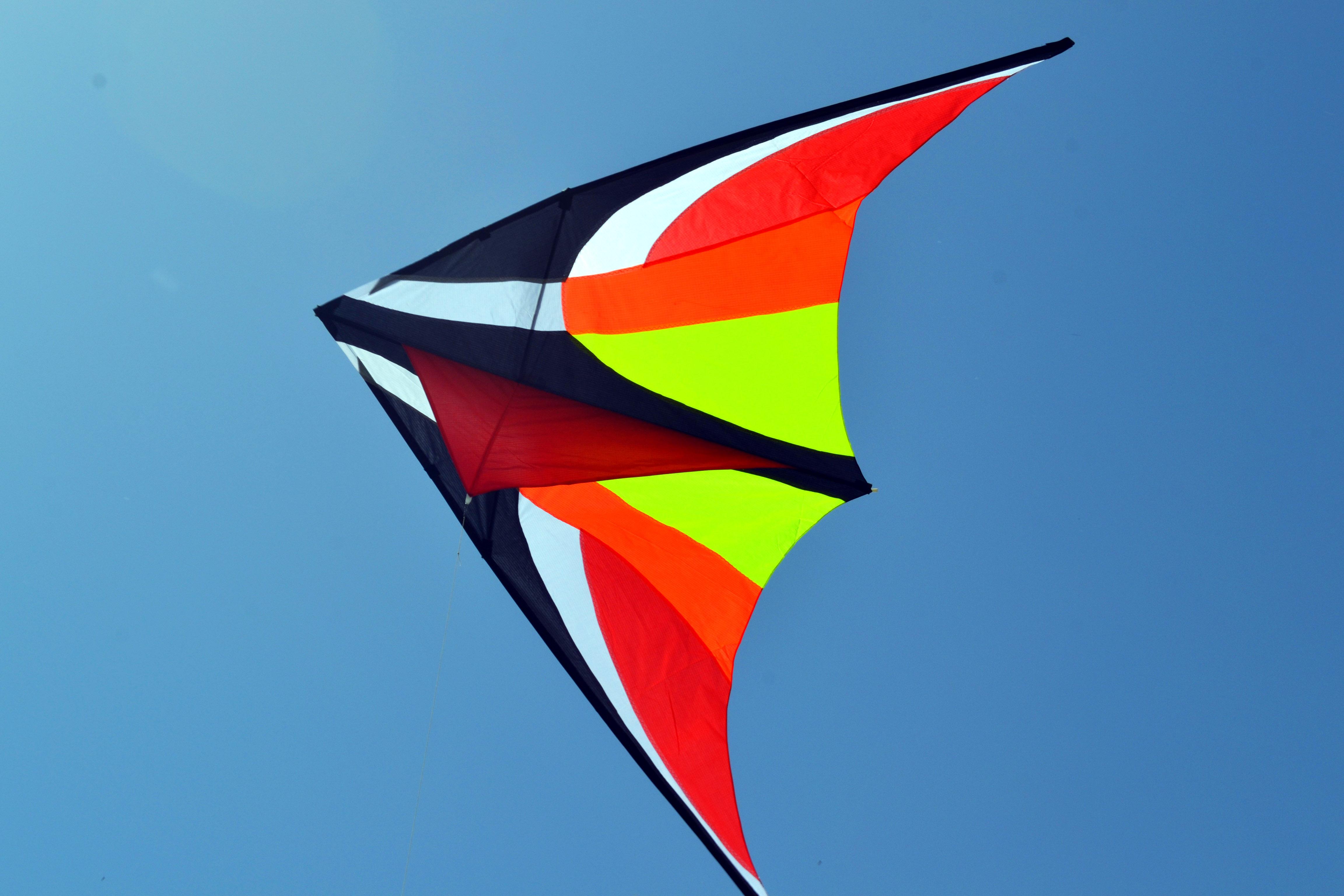 Красный Вьюн, воздушный змей от ФКайт