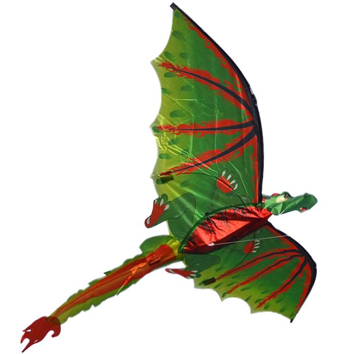 дракончик эллиот 3d, воздушный змей [zb578]
