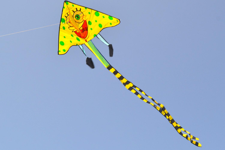 воздушный змей Губка Боб от Фкайт