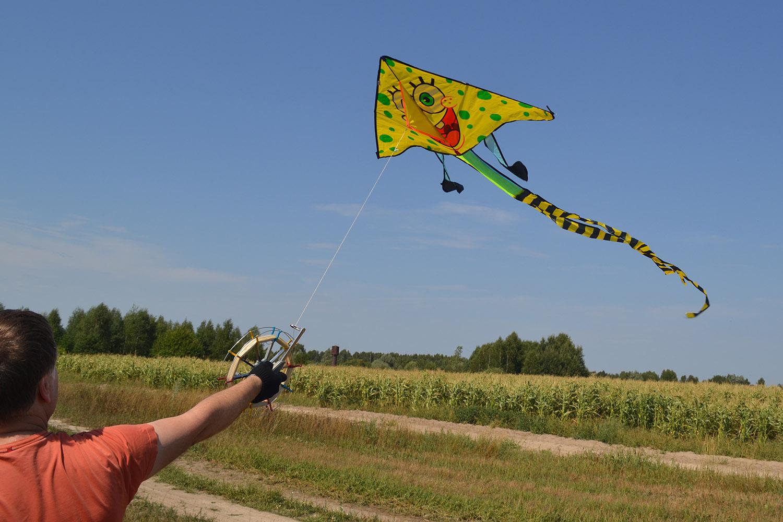 Губка Боб от Фкайт, воздушный змей