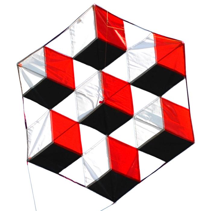 3d кубики, воздушный змей [zb551]
