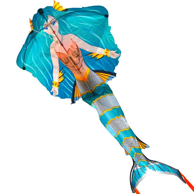 парящая русалка, воздушный змей [zb732]