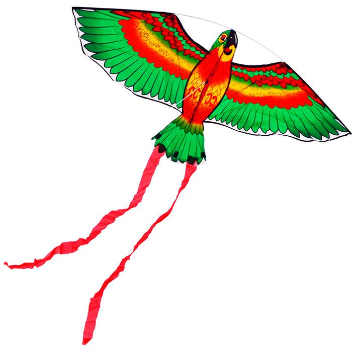 попугай розелла зеленый воздушный змей [zvd567]
