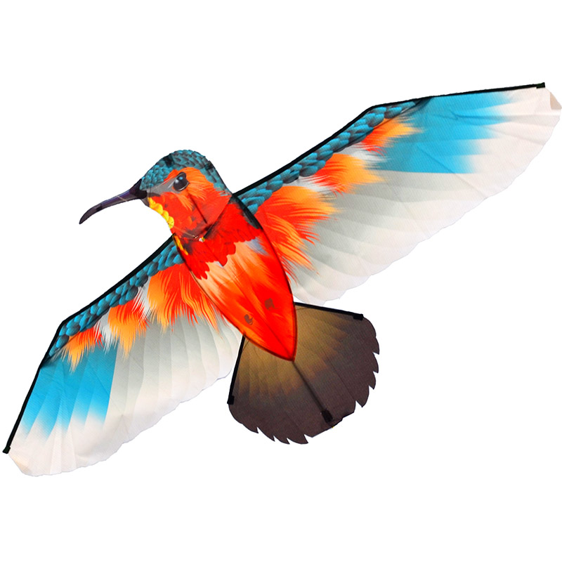 красная колибри, воздушный змей [zbk739]