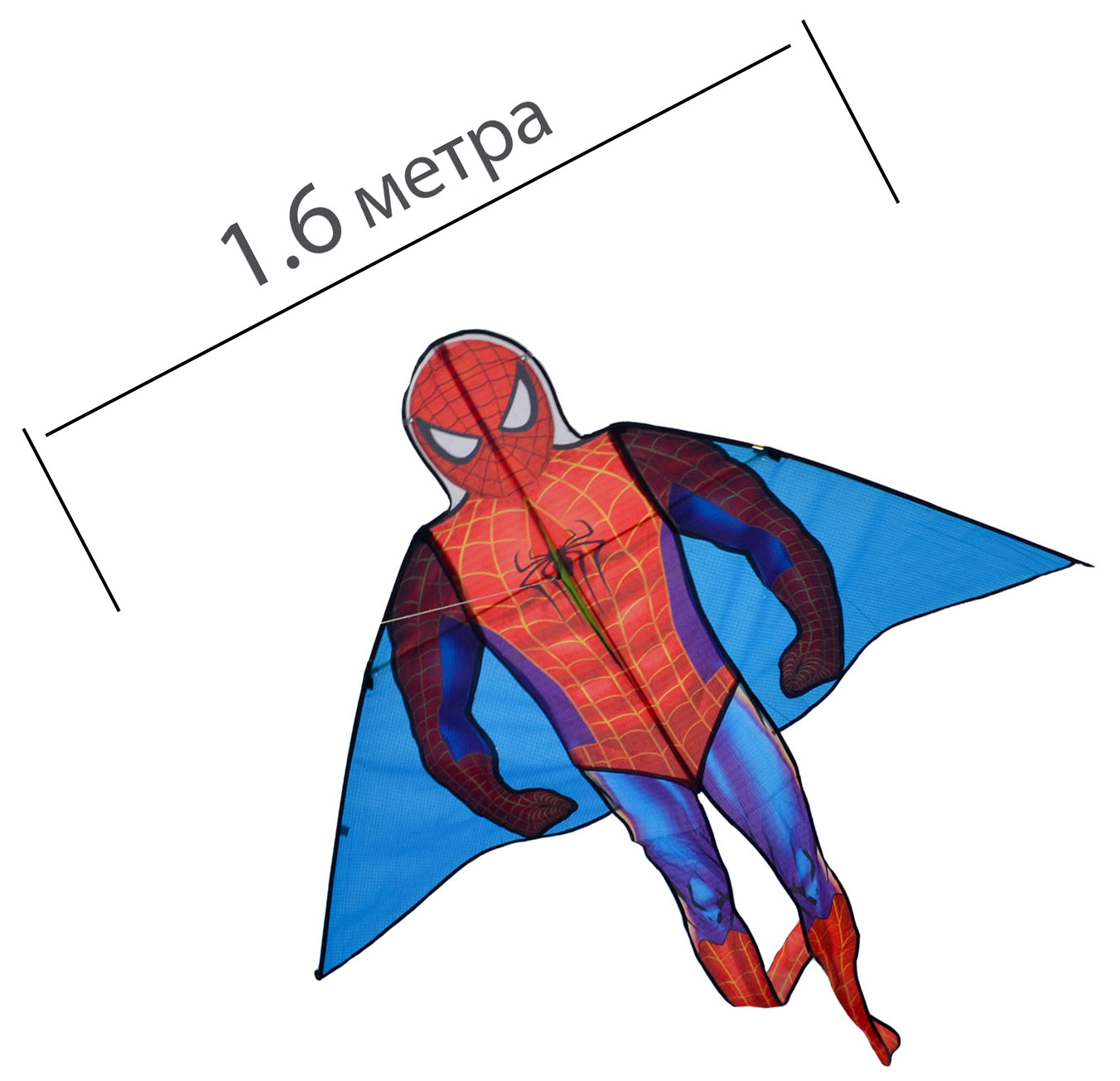 Змей воздушный  Человек-паук от ФКайт